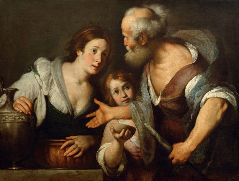 Elijah and Woman